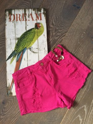 Pinke high waist short