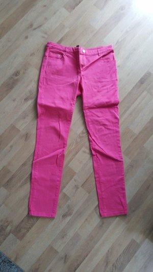 Pinke Hose mit geradem Bein von H&M