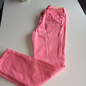Pantalón rosa Algodón