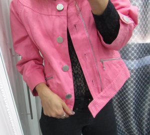 Pinke Jacke von Laurel High Quality Frühling Style