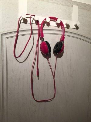 Pinke Kopfhörer von Benetton