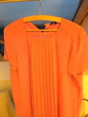 Pinke Kurzarm-Bluse von Luisa Cerano