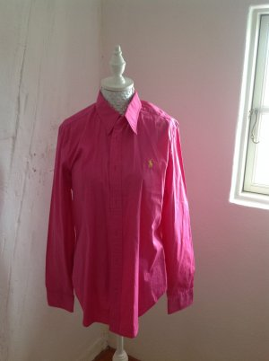 Pinke Langarmbluse Ralph Lauren Gr. 42