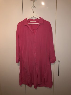 Zara Blusa ancha rosa