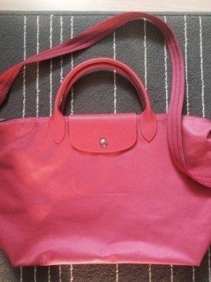 Pinke Longchamp Néo Tasche