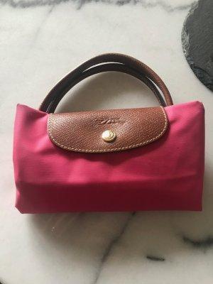 Pinke Longchamp Tasche