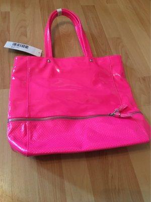 Pinke Mittelgroße Tasche Lack
