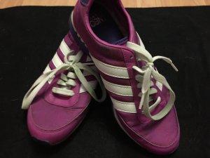 Adidas NEO Zapatillas blanco-rosa