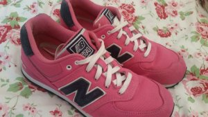 Pinke New Balance 574