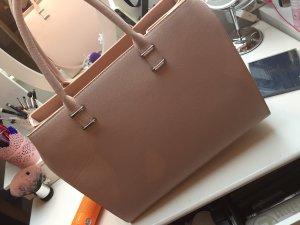 Pinke nude Handtasche