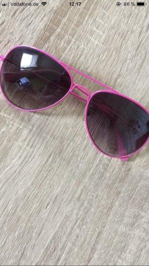 Gafas rosa neón