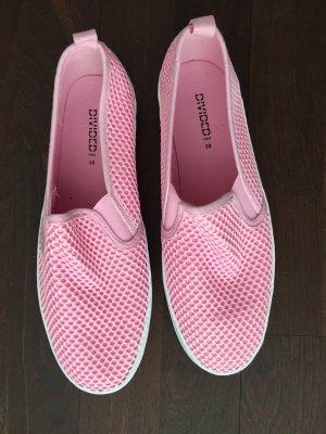 Pinke Plateau Sneaker