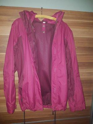 Pinke Regenjacke mit Doppelreisverschluss