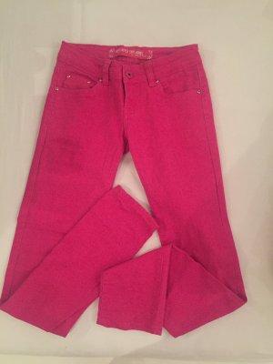 pinke Skinny Jeans in pink