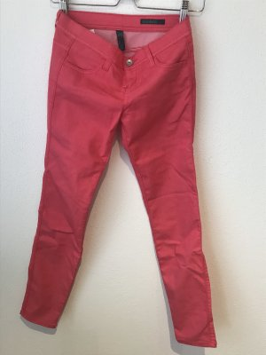 pinke Skinny Jeans von Benetton, Größe 26