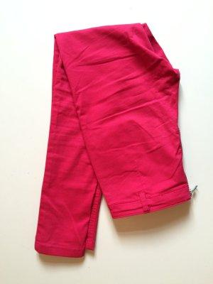 Pinke skinny Röhrenhose High-Waist mit Reißverschluss hinten. Größe 36 von H&M.