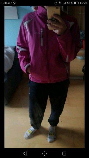 Pinke Softshell Jacke