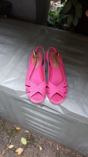 Pinke Sommer Sandalen von Tommy Hilfiger 38