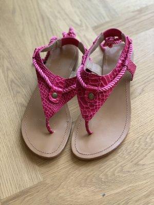 Toe-Post sandals pink