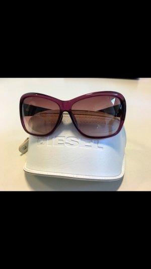 Pinke Sonnenbrille von Diesel