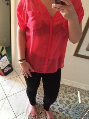 Pinke Spitzen Bluse! Preis Reduziert !!!