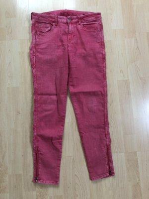 Pinke Stretch Jeans