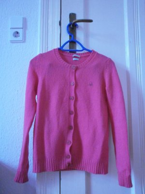 Pinke Strickjacke von Benetton, XS