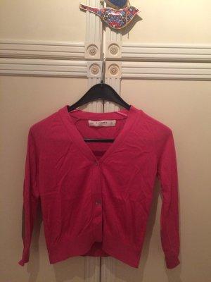 Pinke Strickjacke von Zara