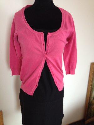 Pinke Strickjacke von Zara Größe XS