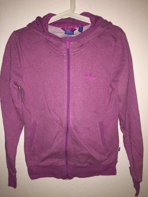 Pinke Sweatshirtjacke