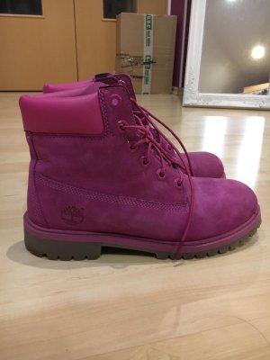Pinke Timberland Boots