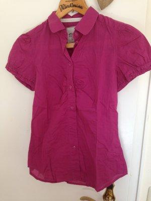 Pinke Tshirt-Bluse Esprit