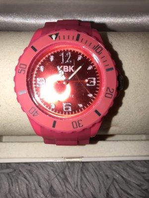Pinke Uhr