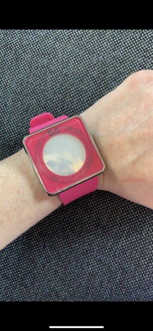 Pinke Uhr von Dolce&Gabbana