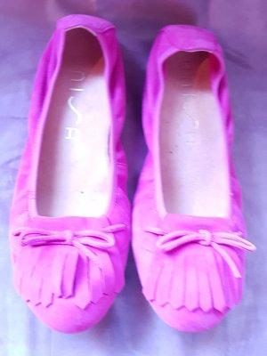 Unisa Ballerines pliables rose fluo-violet