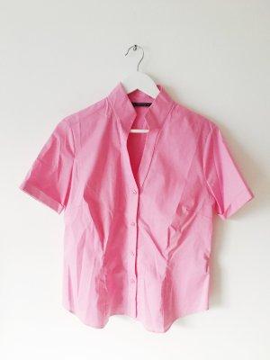 pinke Vintage-Bluse