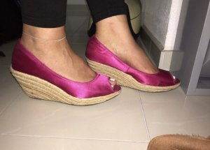 Pinke Wedges Gr. 40