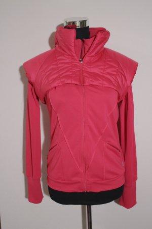 Pinke Work Out Jacke von Adidas