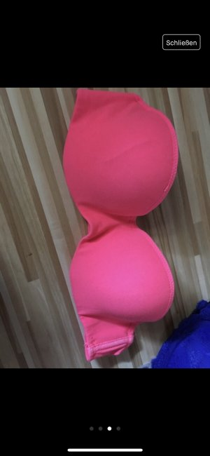 Pinker balconette Bh ohne push up