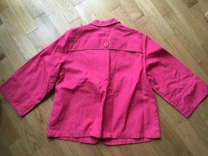 Jersey Blazer pink cotton