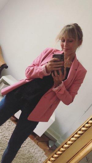 Pinker Blazer Bershka
