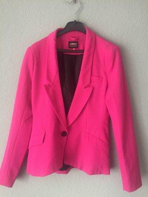Only Blazer largo rosa
