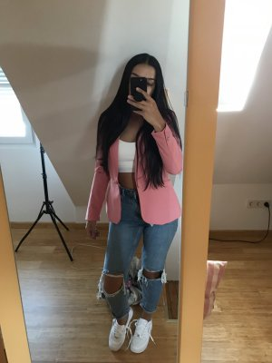 pinker Blazer Zara