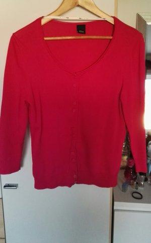 Pinker Cardigan in Größe 40