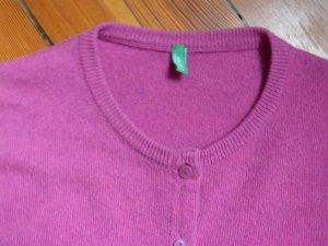 Pinker Cardigan von Benetton