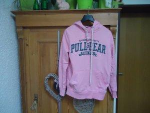 pinker Hoodie Pull&Bear S
