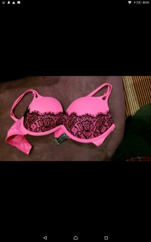 Pinker Hunkemöller Push-Up-BH 75 B