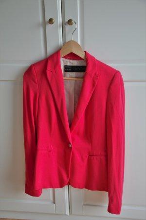 Pinker Jersey Blazer von Zara
