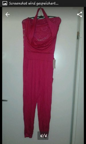 pinker jumpsuit
