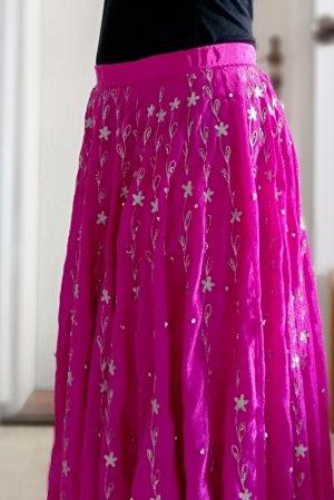Maxi Skirt magenta